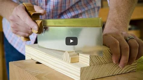 making a bench hook wood and shop