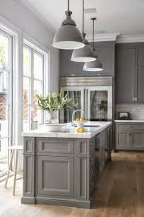 Grey Kitchens Cabinets 25 Best Ideas About Gray Kitchens On Pinterest Grey