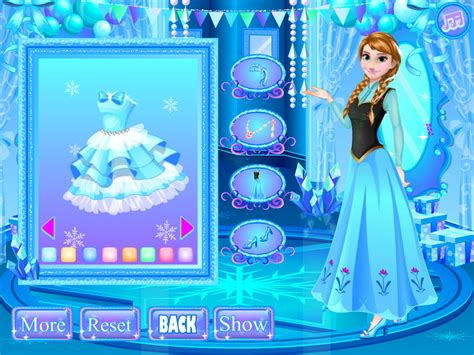 design games at mafa download anna party dress design game