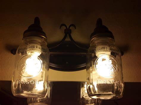Jar Light Fixtures by How To Create Jar Lighting Fixtures Homesfeed