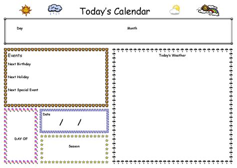 What S On The Calendar For Today Jen S Busy Days My School Room More Quot Schooly Quot