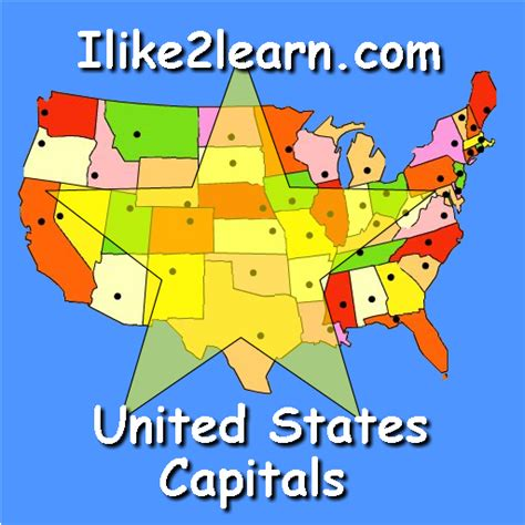 america map quiz with capitals us map capitals image search results