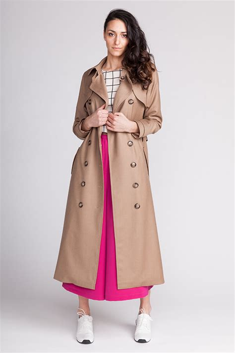 Shopping Doori Trench Coat Dress by Isla Trench Coat Named
