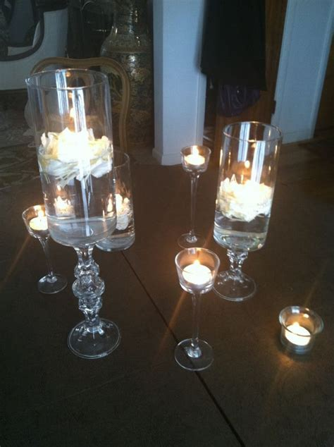 Dollar Store Vase Centerpiece found on weddingbee your inspiration today http www dollartree supplies