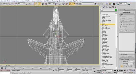 vector thrust tutorial tutorial 003 aircraft bones and export vector thrust