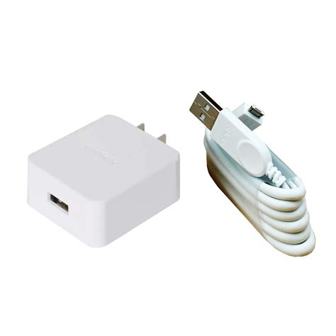 Usb Charger Oppo jual oppo cf1001 original charger with micro usb data cable white harga