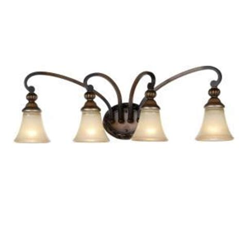 hton bay 4 light vanity fixture hton bay caffe patina 4 light vanity fixture lighting fixtures