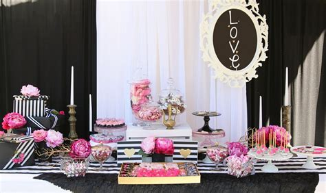 bridal shower decoration ideas black and white a list of bridal shower ideas to get you inspired everafterguide