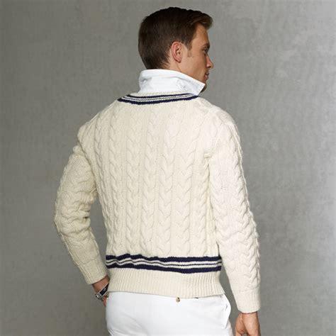 Kaos Tennis Ralph Laurent ralph cricket sweater uk sweater vest