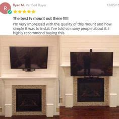fireplace pull tv mount 1000 images about mantelmount 174 tv wall mount on