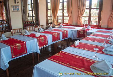 ottoman hotel antalya table setting of the sultan hanim mansion restaurant