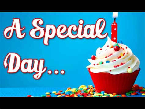 day special tomorrow is a special day