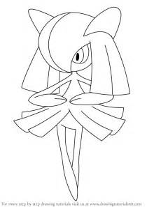 learn how to draw kirlia from pokemon pokemon step by