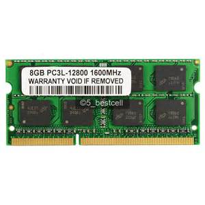 Ram Ddr3 Pc12800 8gb new 8gb pc3l 12800 ddr3 pc12800 1600mhz 1 35v sodimm 204pin laptop memory ram ebay