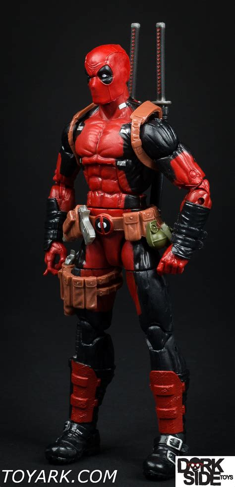 deadpool figure 90s marvel legends deadpool wave photo shoot the