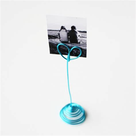 wire photo display diy wire photo holder morning creativity