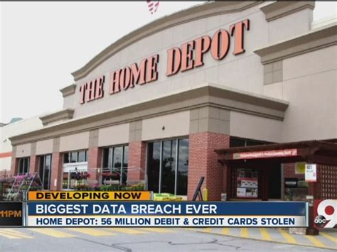 home depot security breach affects 56 million story