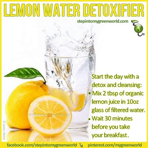 Ways To Detox Skin Lemons by Lemon Water Detox Organic Lose The Baby Weight