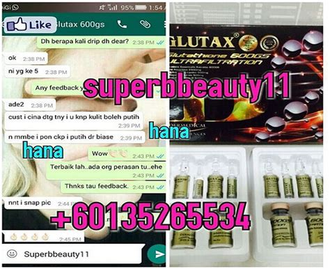 Glutax August every deserves to be pretty testimoni glutax 600gs