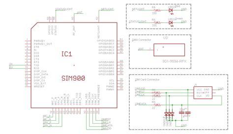 circuit design contest questions gsm sim900 circuit design where to connect pwrkey of