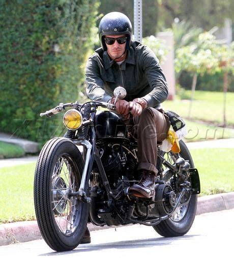 vintage motocross gloves david beckham motorcycle helmet jacket leather boots brown