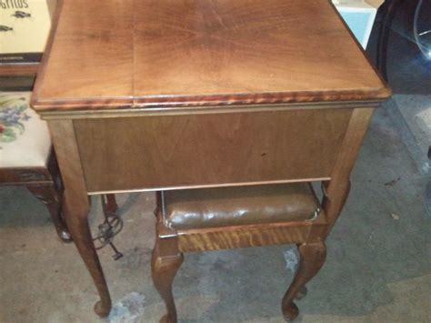 solid wood sewing machine cabinets solid wood sewing machine cabinet and matching stool