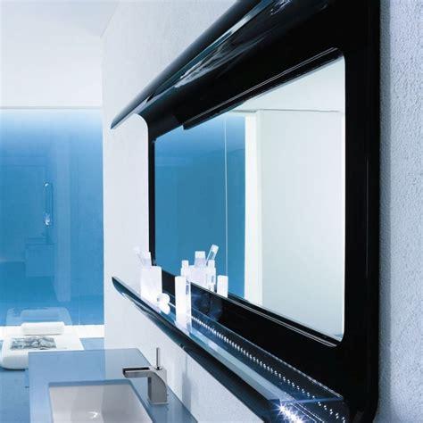 Bien Colonne Suspendue Salle De Bain #3: miroir-salle-bain-design-%C3%A9clairage-%C3%A9tag%C3%A8re-Arlex-design-Lul%C3%B9-noir.jpg