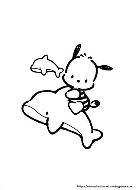 hello kitty and my melody coloring pages pochacco coloring pages educational fun kids coloring