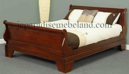 Ranjang Minimalis No 3 tempat tidur model bagong jual mebel jepara