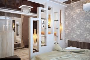White Gray Bedroom - room dividers for bedroom 26 ideas for the delimitation bedroom design