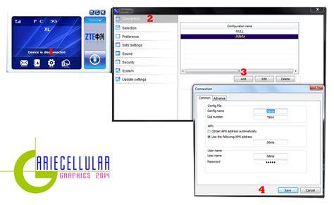 Modem Join Air arie cellular cara setting modem kartu three