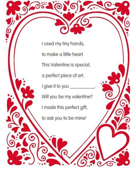 valentines day poems for toddlers best 25 handprint poem ideas on great