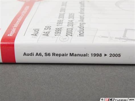 audi a6 c5 service manual 1998 2004 a6 allroad quattro s6 advanced automotion audi a6 service repair manual 1998 2004 bentley autos post