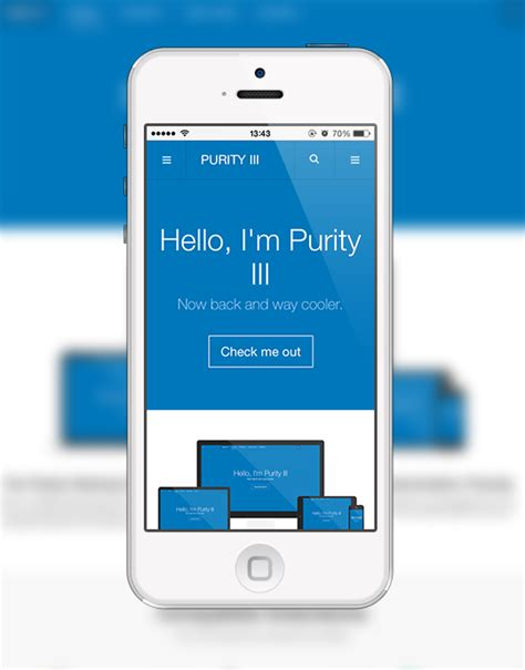 purity iii    responsive joomla template