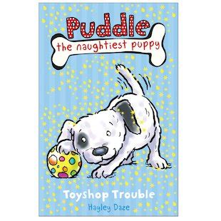 the puddle club books puddle the naughtiest puppy toyshop trouble scholastic