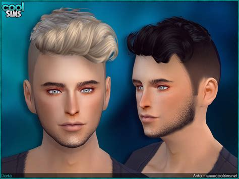 custom content hair sims 4 hairs the sims resource anto darko hairstyle