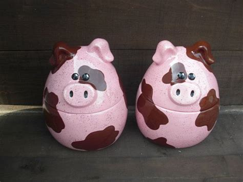 pig kitchen canisters 226 best images about piggy cookie jar on ceramics jars and happy pig