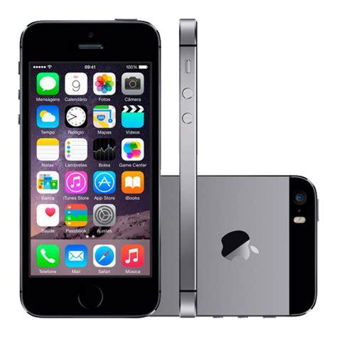 iphone 5a iphone 5s 16gb preto saldao da informatica