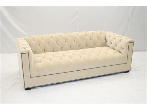 hickory tannery living room tufted sofa 7735 03