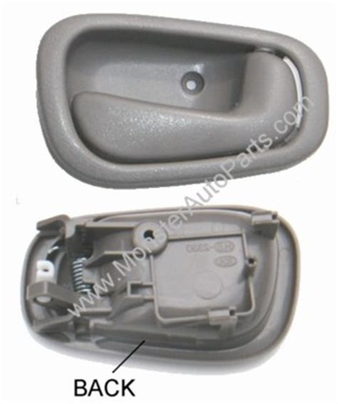 2001 Toyota Corolla Interior Door Handle 2002 Toyota Corolla Inside Door Handle At Auto Parts