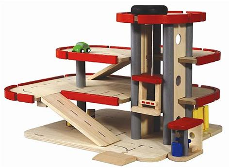 parking garage  plan toys babyccino kids daily tips