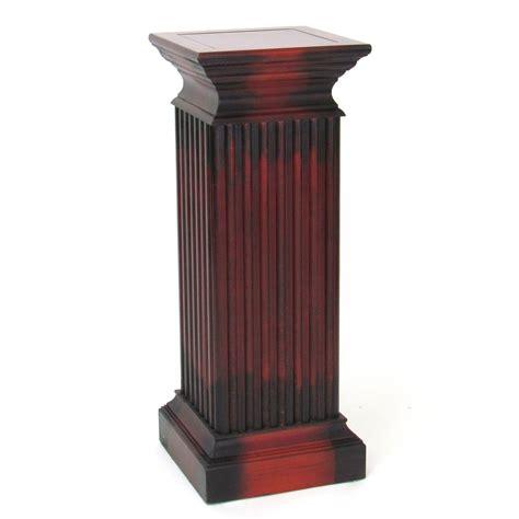pedestal in column square column pedestal indoor plant stands at hayneedle