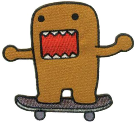 how to draw doodle domo how to draw domo skateboard