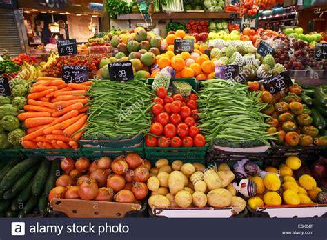 vegetables market market stall selling fruit and vegetables market