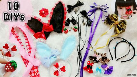 Easy Diy Hair Accessories by 10 Diy And Easy Hair Accessories For School