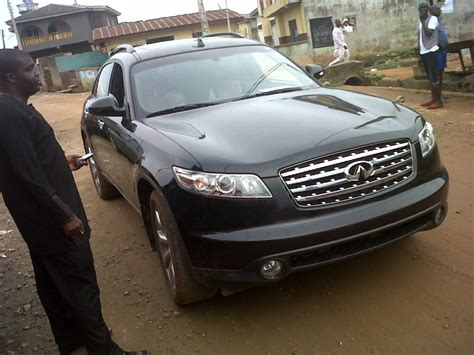 infiniti q30t a tokunbo nissan infinity fx45 for sale 2003 model