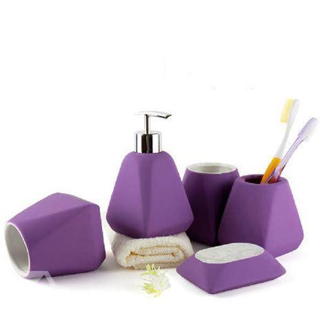 purple bath accessories complete your bathroom with sweet purple bath accessories