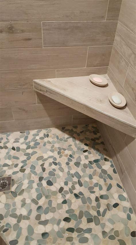 Pebble Tile Bathroom Floor by 17 Best Ideas About Pebble Shower Floor On