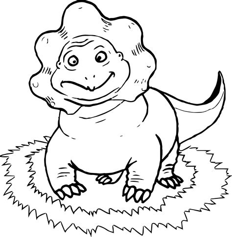 coloring book views dinosaur front view coloring page wecoloringpage