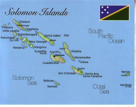 solomon islands map solomon islands tourism best islands and beaches